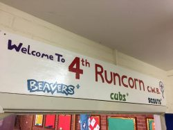 Our newly renovated 4th Runcorn Sign, it is over 40 years old
